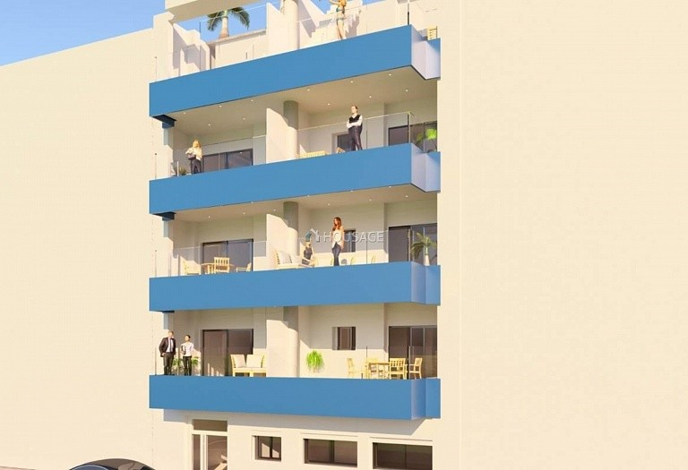 2 bed flat for sale in Torrevieja, Spain, 76 m² - photo 1