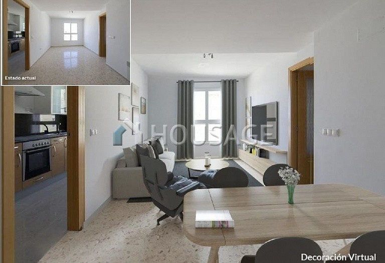 3 bed flat for sale in Alberic, Spain, 78 m² - photo 1